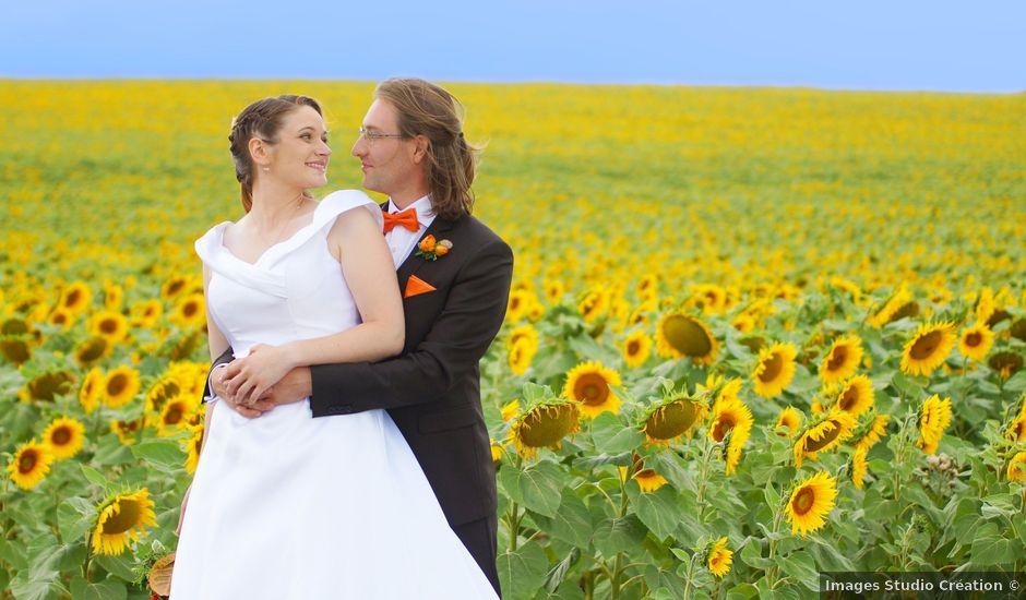 Le mariage de Odalric et Bénédicte à Reuilly, Indre