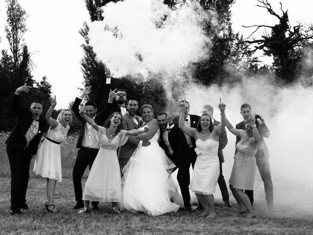 Le mariage de Anthony et Audrey à Sainte-Terre, Gironde 33