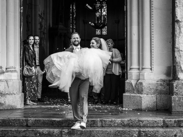 Le mariage de Clément et Anaïs à Fougeré, Vendée 37