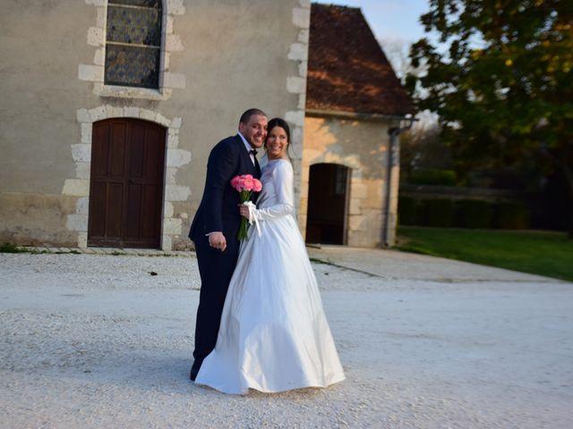 Le mariage de Amir et Anna à Beaulieu-sur-Loire, Loiret 2