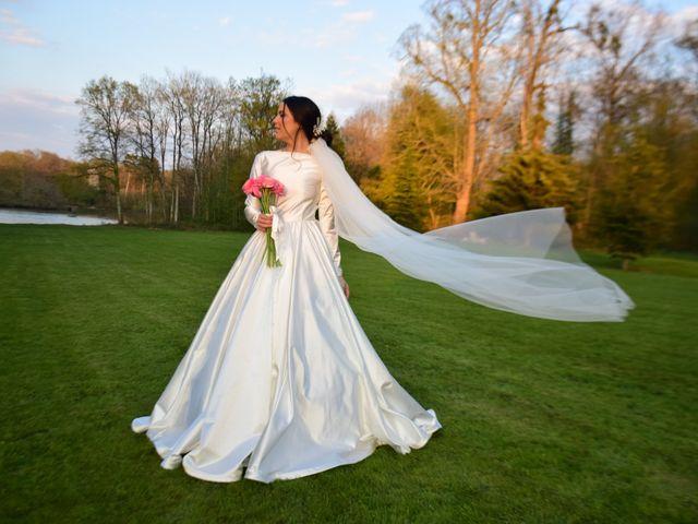 Le mariage de Amir et Anna à Beaulieu-sur-Loire, Loiret 5