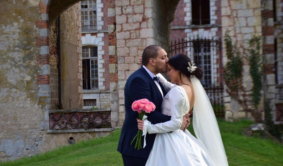 Le mariage de Amir et Anna à Beaulieu-sur-Loire, Loiret