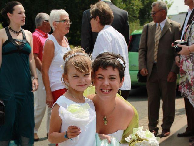 Le mariage de Charlotte et Yoann à Degré, Sarthe 5