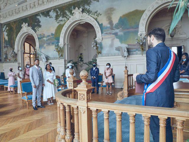 Le mariage de Gaelle et Gerald à Saint-Cloud, Hauts-de-Seine 1