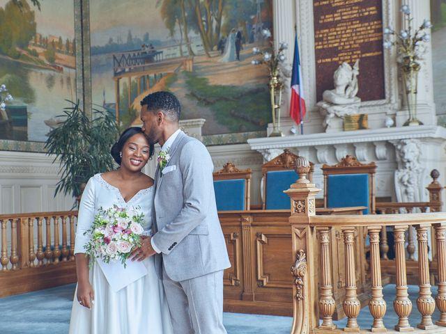 Le mariage de Gaelle et Gerald à Saint-Cloud, Hauts-de-Seine 7