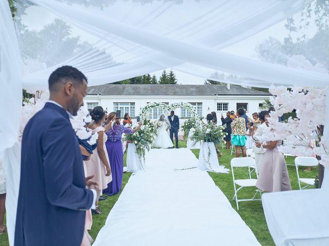 Le mariage de Gaelle et Gerald à Saint-Cloud, Hauts-de-Seine 12