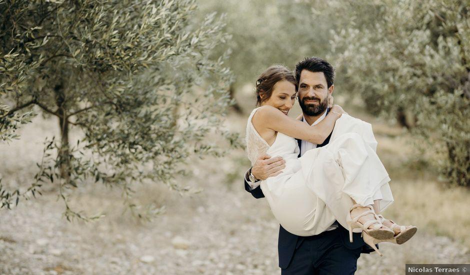 Le mariage de Laurent et Pauline à Nyons, Drôme
