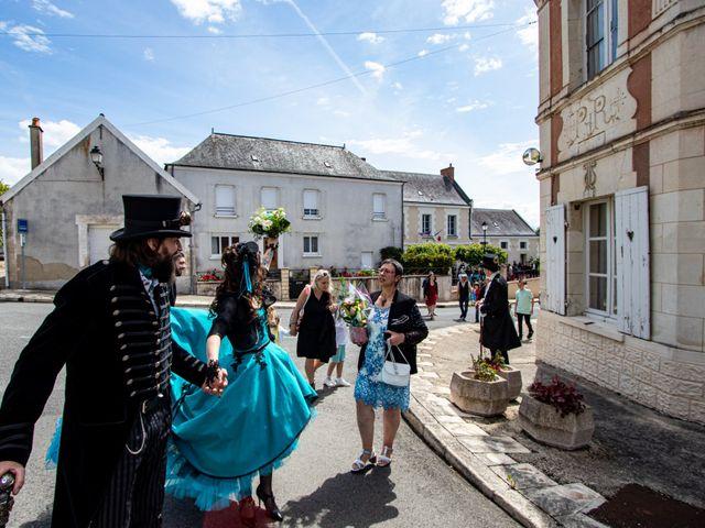 Le mariage de Cyril et Emilie à Braye sur Maulne, Indre-et-Loire 42