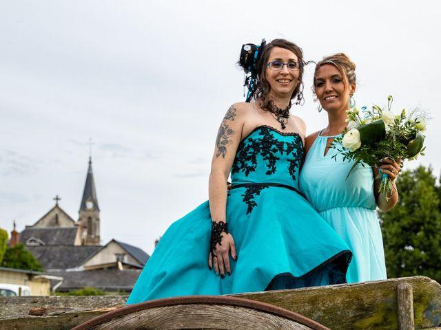 Le mariage de Cyril et Emilie à Braye sur Maulne, Indre-et-Loire 75