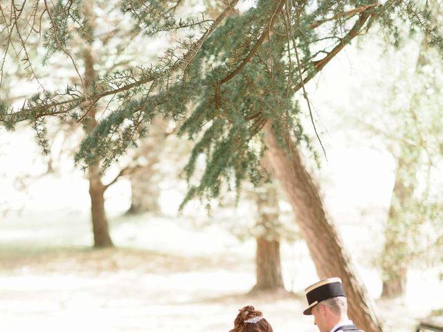 Le mariage de Alexandre et Angélique à Pierrefeu-du-Var, Var 35