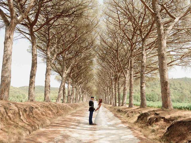 Le mariage de Alexandre et Angélique à Pierrefeu-du-Var, Var 39
