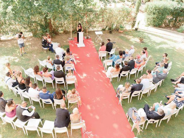 Le mariage de Alexandre et Angélique à Pierrefeu-du-Var, Var 74
