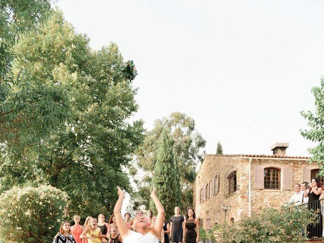 Le mariage de Alexandre et Angélique à Pierrefeu-du-Var, Var 83