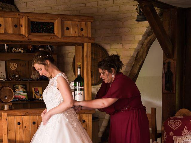 Le mariage de Jérémy et Julie à Cambremer, Calvados 5