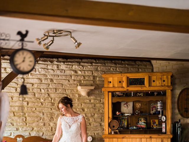Le mariage de Jérémy et Julie à Cambremer, Calvados 9