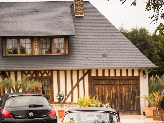 Le mariage de Jérémy et Julie à Cambremer, Calvados 16