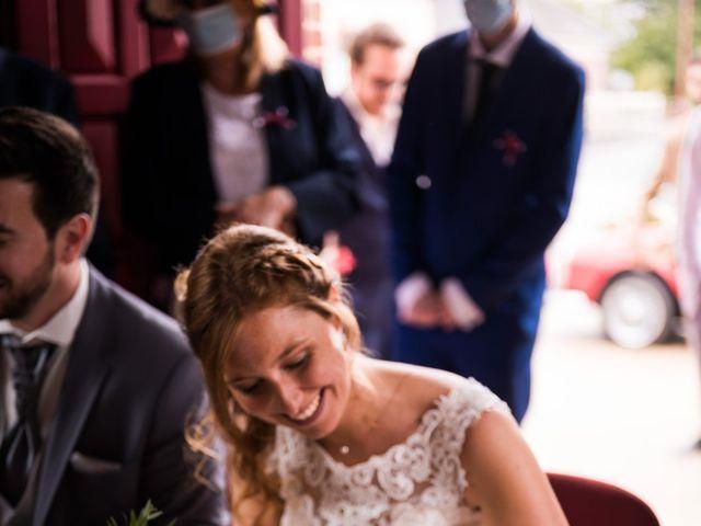 Le mariage de Jérémy et Julie à Cambremer, Calvados 18