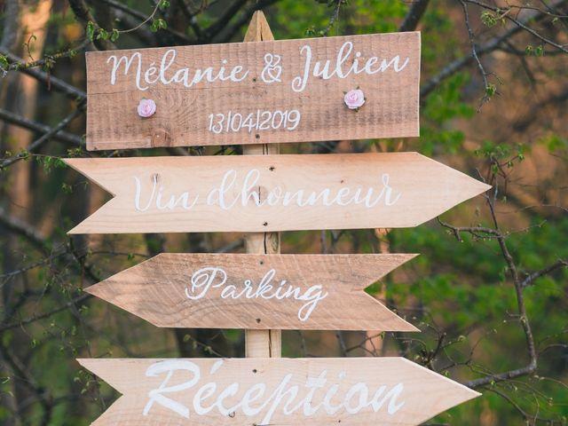 Le mariage de Julien et Mélanie à Légny, Rhône 25