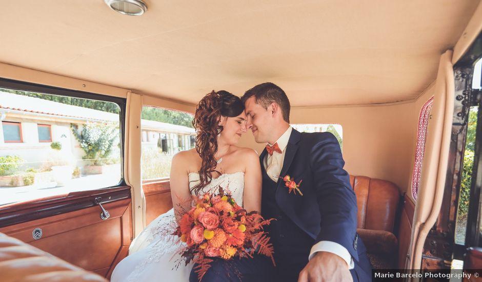 Le mariage de Benjamin et Laure à Serviès, Tarn