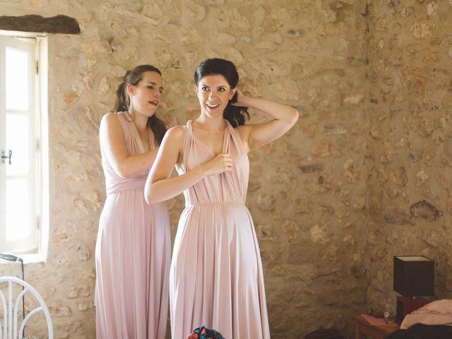 Le mariage de Vincent et Katrina à Lamonzie-Montastruc, Dordogne 18