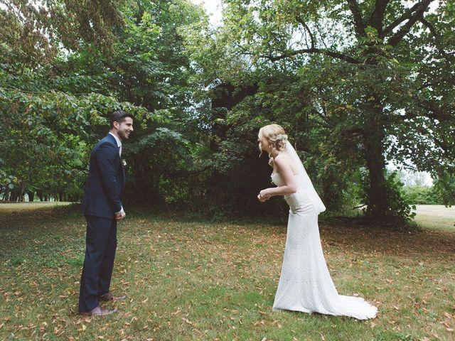 Le mariage de Vincent et Katrina à Lamonzie-Montastruc, Dordogne 29