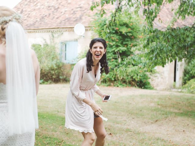 Le mariage de Vincent et Katrina à Lamonzie-Montastruc, Dordogne 31