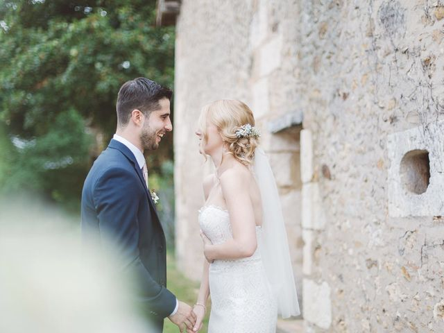 Le mariage de Vincent et Katrina à Lamonzie-Montastruc, Dordogne 39
