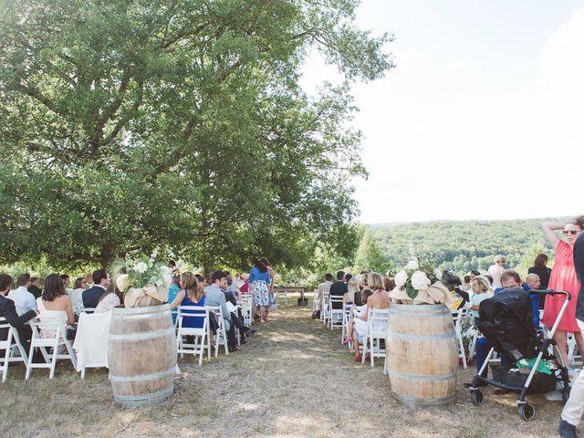 Le mariage de Vincent et Katrina à Lamonzie-Montastruc, Dordogne 46