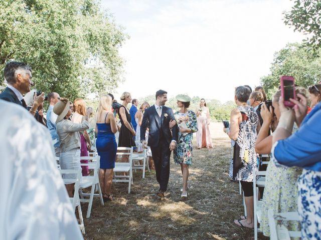 Le mariage de Vincent et Katrina à Lamonzie-Montastruc, Dordogne 47