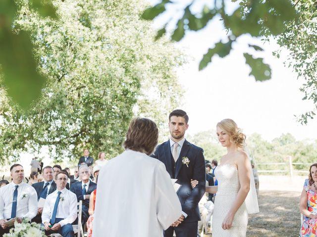 Le mariage de Vincent et Katrina à Lamonzie-Montastruc, Dordogne 49