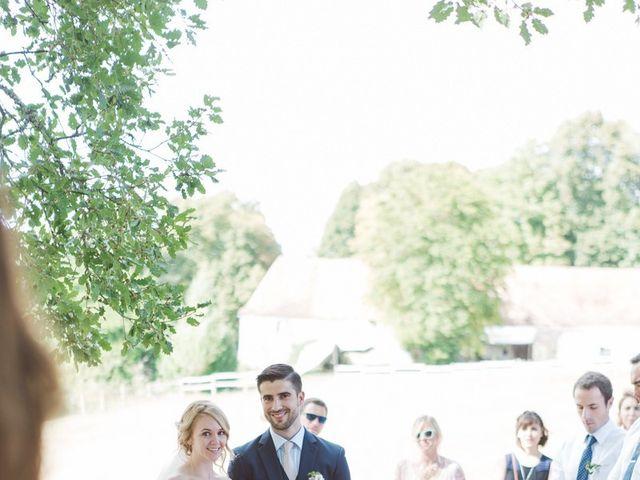 Le mariage de Vincent et Katrina à Lamonzie-Montastruc, Dordogne 50