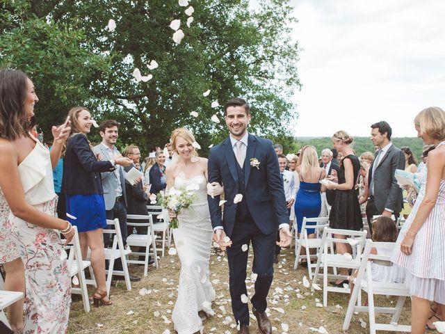 Le mariage de Vincent et Katrina à Lamonzie-Montastruc, Dordogne 54