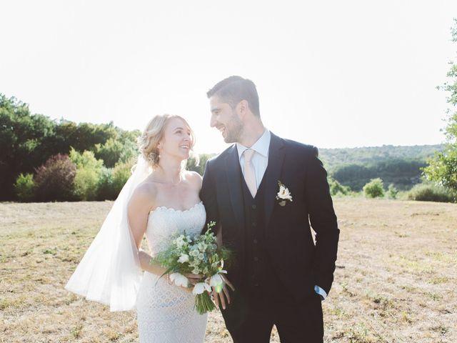 Le mariage de Vincent et Katrina à Lamonzie-Montastruc, Dordogne 57