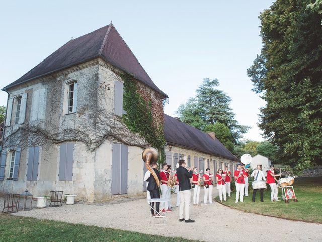 Le mariage de Vincent et Katrina à Lamonzie-Montastruc, Dordogne 66