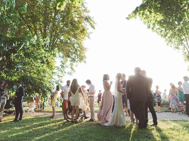 Le mariage de Vincent et Katrina à Lamonzie-Montastruc, Dordogne 68