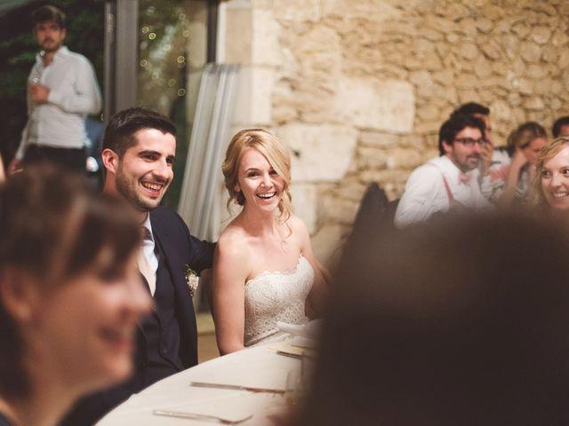 Le mariage de Vincent et Katrina à Lamonzie-Montastruc, Dordogne 79