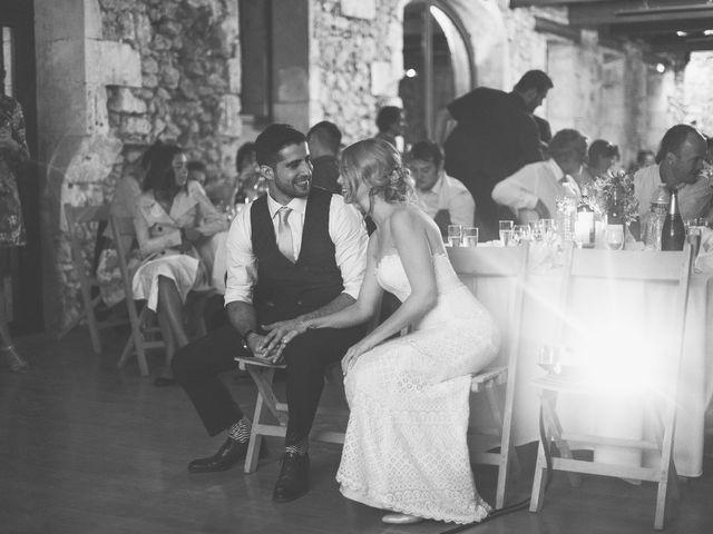 Le mariage de Vincent et Katrina à Lamonzie-Montastruc, Dordogne 82