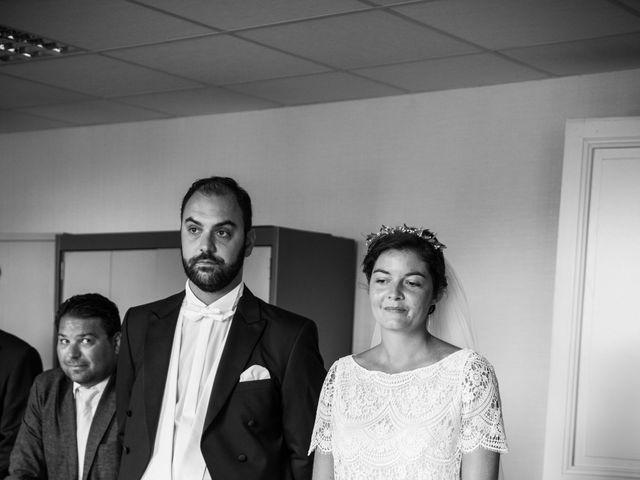 Le mariage de Férréol et Tiphaine à Luché-Pringé, Sarthe 7