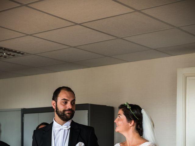 Le mariage de Férréol et Tiphaine à Luché-Pringé, Sarthe 9