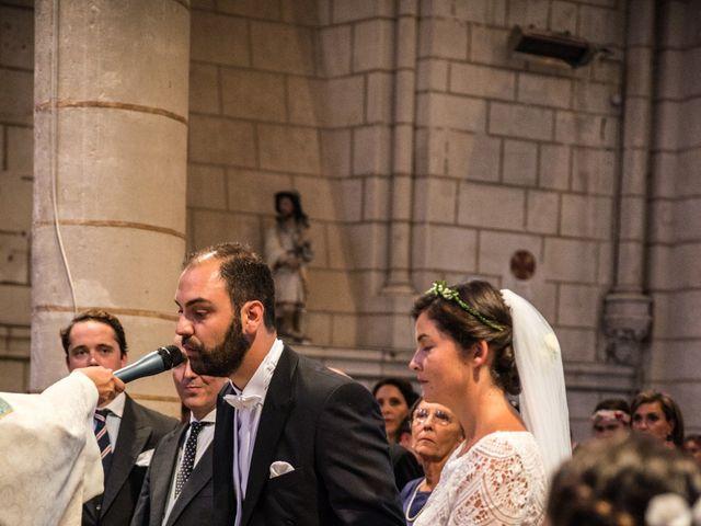 Le mariage de Férréol et Tiphaine à Luché-Pringé, Sarthe 20