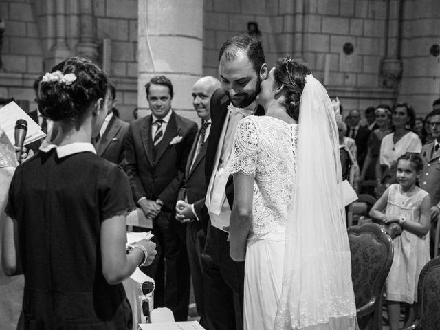 Le mariage de Férréol et Tiphaine à Luché-Pringé, Sarthe 22
