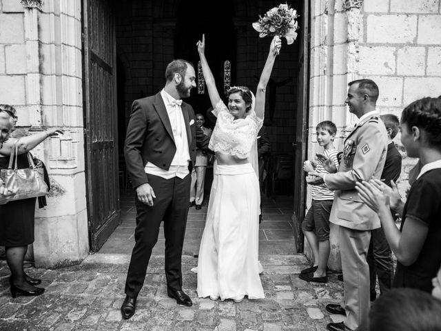 Le mariage de Férréol et Tiphaine à Luché-Pringé, Sarthe 1