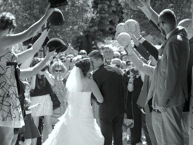 Le mariage de Guillaume et Gwendoline à Thiviers, Dordogne 1