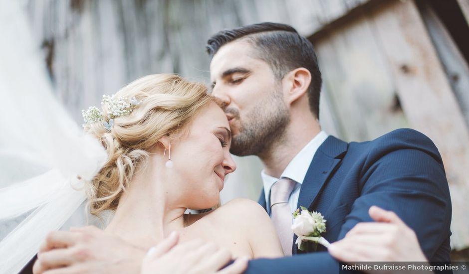Le mariage de Vincent et Katrina à Lamonzie-Montastruc, Dordogne