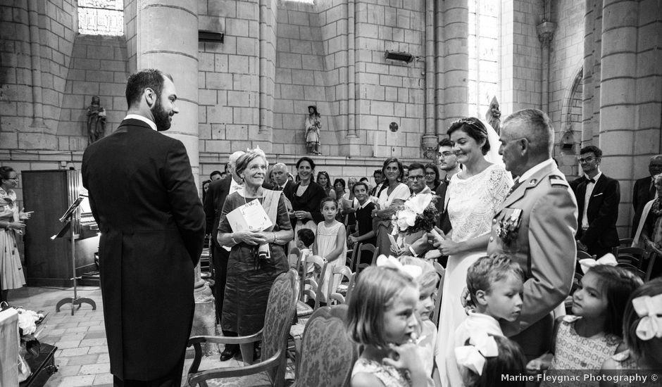 Le mariage de Férréol et Tiphaine à Luché-Pringé, Sarthe