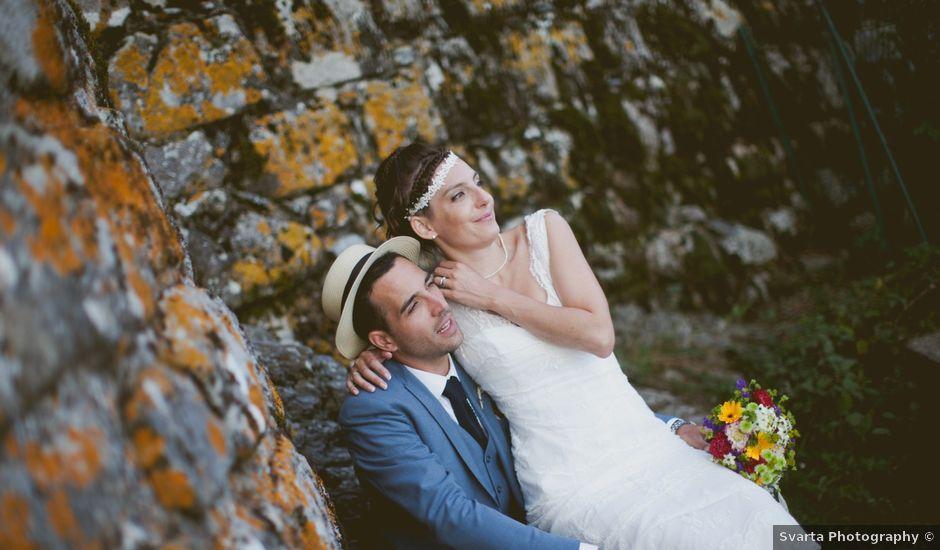 Le mariage de Pierre-Olivier et Marion à Lanobre, Cantal