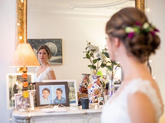 Le mariage de François et Églantine à Paris, Paris 15