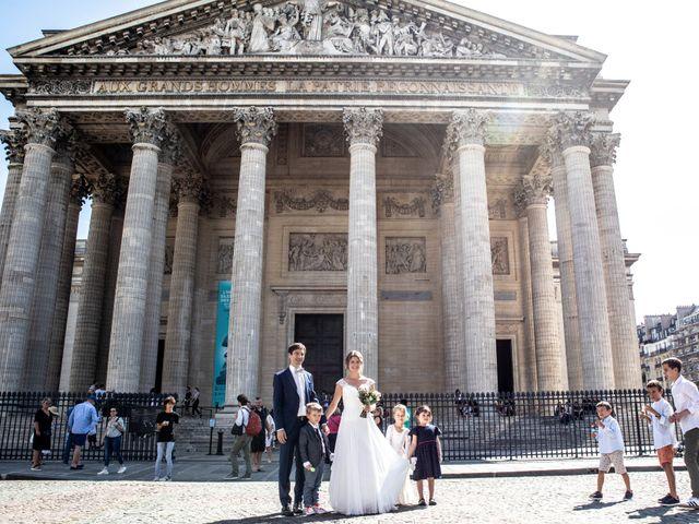 Le mariage de François et Églantine à Paris, Paris 62