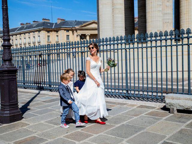 Le mariage de François et Églantine à Paris, Paris 64