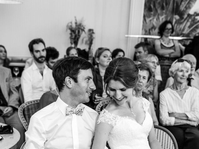Le mariage de François et Églantine à Paris, Paris 100